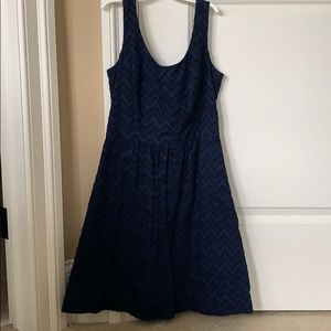 Navy Vineyard Vines Dress